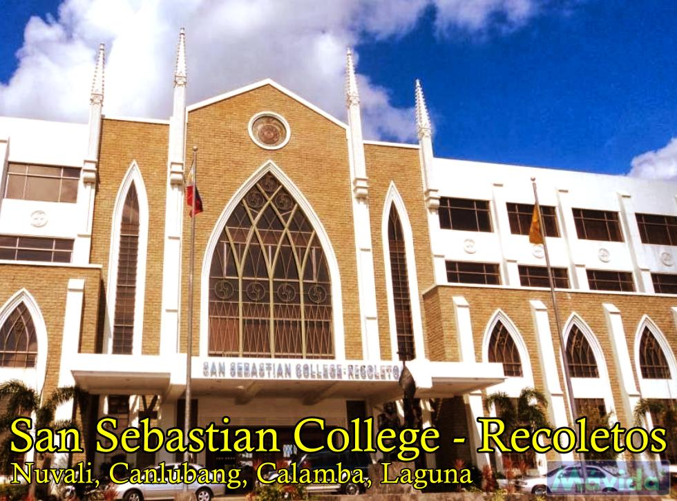 San Sebastian College Recoletos in Calamba Laguna