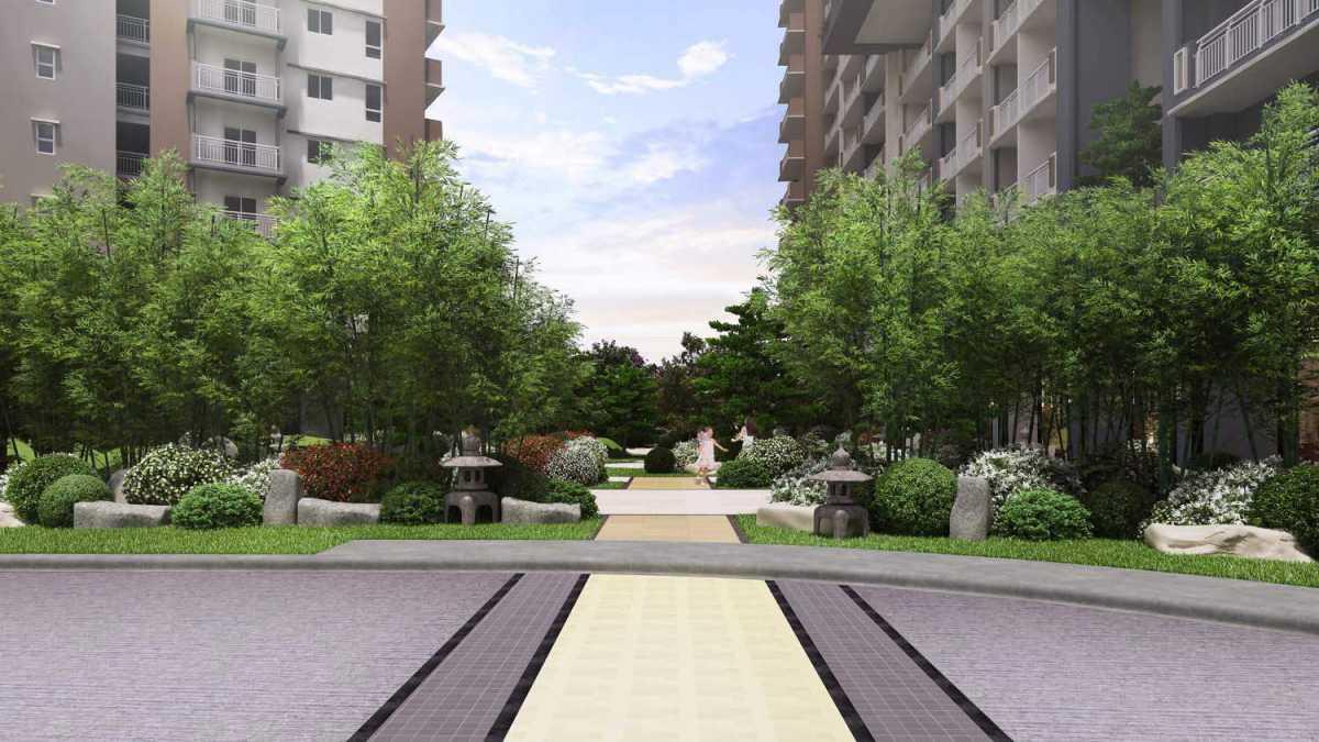 KAI Garden Residences - Garden Area