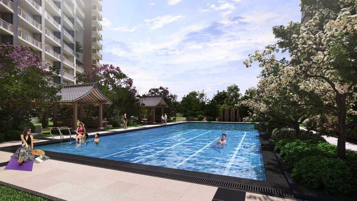 KAI Garden Lap Pool