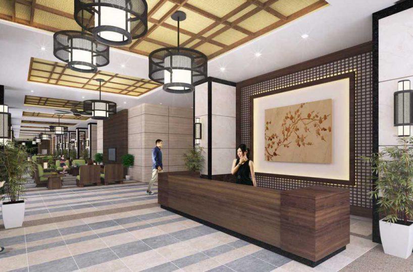 KAI Garden reception lobby