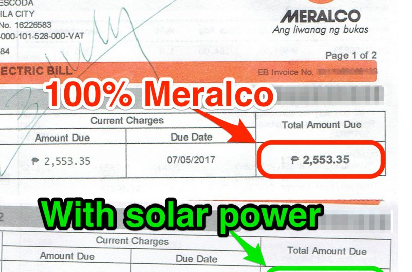 Meralco Bill With Net Metering