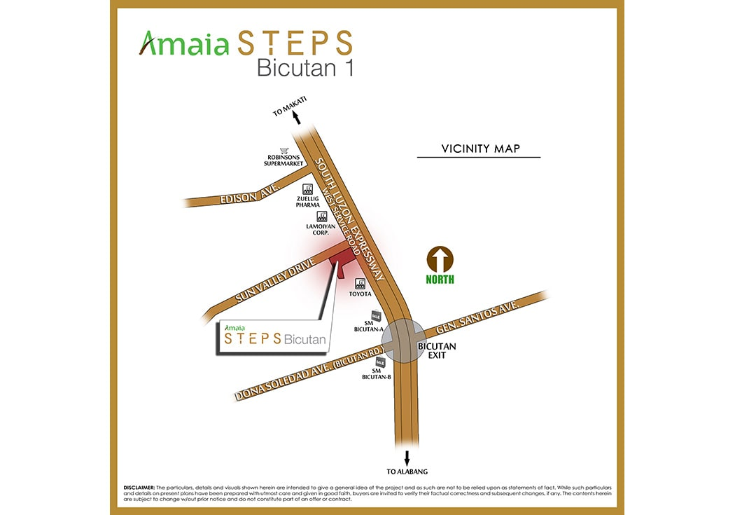 Amaia Steps Bicutan