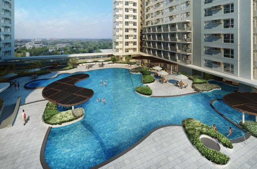 Avida Towers Asten Pool Area