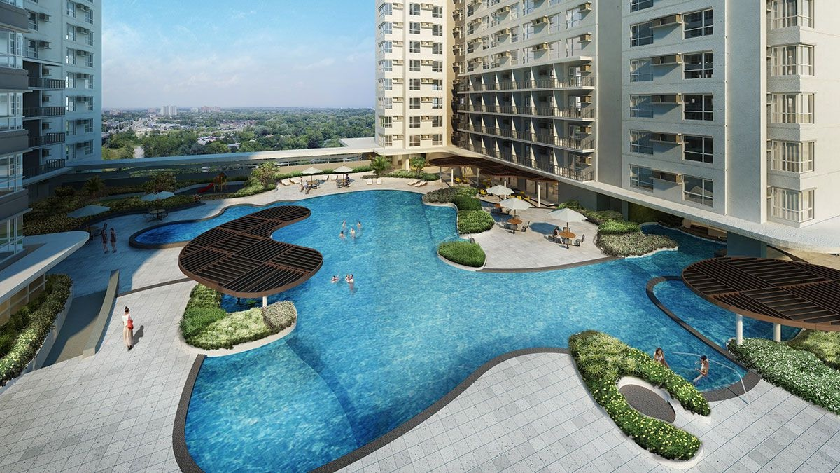 Avida Towers Asten Pool Area